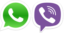 WhatsApp и Viber