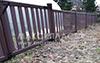 Забор пластиковый ПВХ Кантри 03