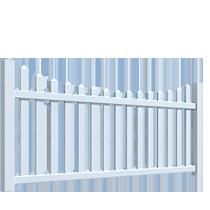 Забор из штакетника Кантри DP 302